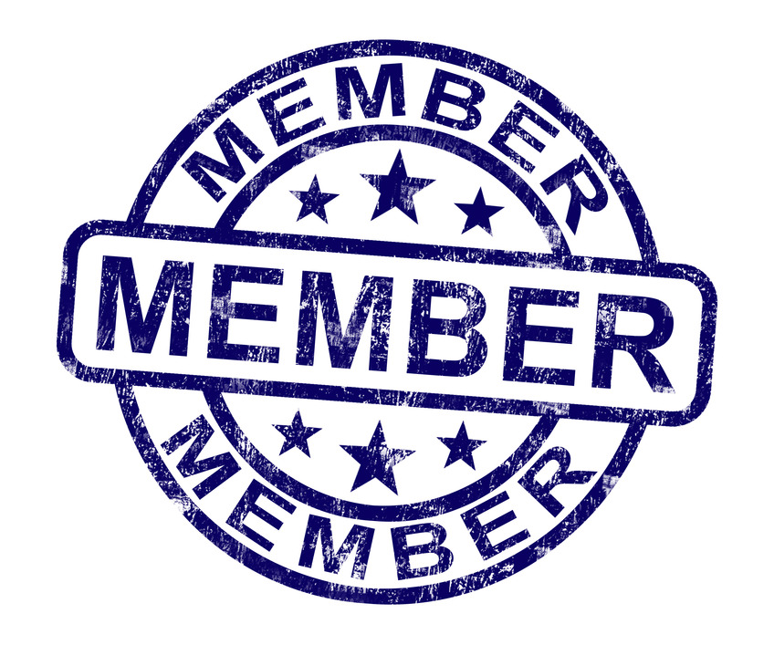 member-stamp.jpg (Member Stamp Shows Membership Registration And Subscribing)